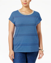 MICHAEL Michael Kors Size Striped T-Shirt