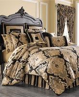 J Queen New York Bradshaw Black King Comforter Set