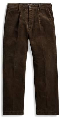 Ralph Lauren Pleated Corduroy Trouser