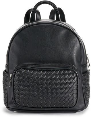 Karla Hanson Tanya RFID-Blocking Pebbled Mini Backpack
