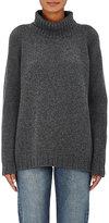 Barneys New York Women's Cashmere Turtleneck Sweater-DARK GREY
