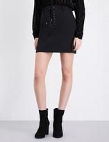 Paige Iris high-rise skirt