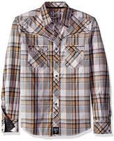 Wrangler Men's Rock 47 Two Pocket Long Sleeve Shirt