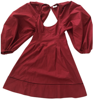 KHAITE Red Cotton Dresses