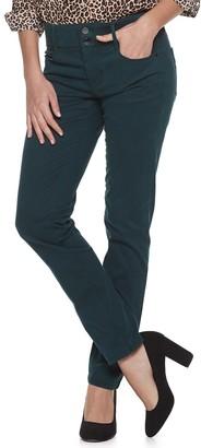 Apt. 9 Women's Tummy Control Midrise Straight-Leg Jeans