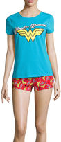 DC COMICS Shorts Pajama Set-Juniors
