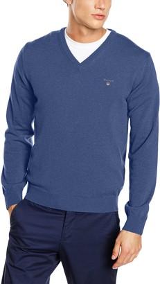 Gant Men's Lambswool V-Neck Sweater