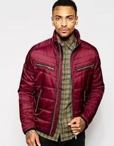 Diesel Quilted Jacket W-izumo-p - Red