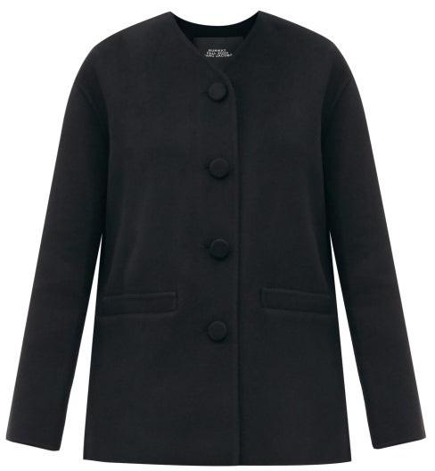 MARC JACOBS, RUNWAY Marc Jacobs Runway - Single-breasted Wool-blend Felt Jacket - Black