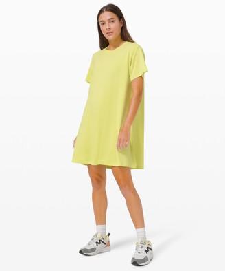Lululemon All Yours Tee Dress