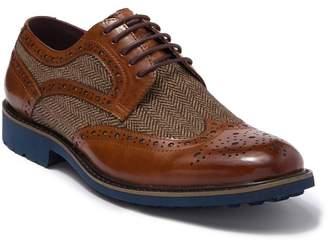 English Laundry Alexander Leather Wingtip Derby