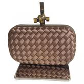 Bottega Veneta Pochette Knot leather clutch bag
