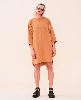 Elvine Lynxie Dress Burnt Orange - Size S