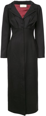 Sara Battaglia Tailored Shirt Dress