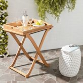 Safavieh Outdoor Living Covina Brown Acacia Wood Folding Tray Table