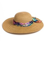 Nordstrom Women's Floppy Straw Hat - Brown