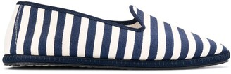 Vibi Venezia striped slip-on espadrilles