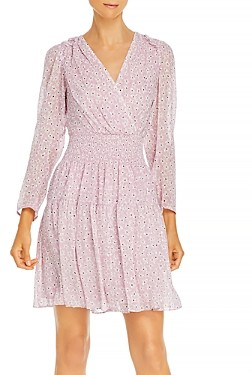 Rebecca Taylor Star Smocked Dress