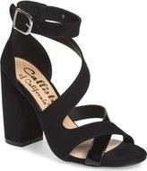 Callisto 'Dinah' Crisscross Ankle Strap Sandal (Women)