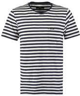 Makia Verkstad Print Tshirt White/navy