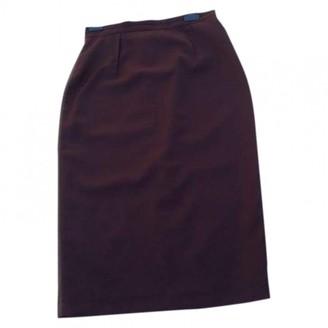 Wood Wood \N Burgundy Skirt for Women