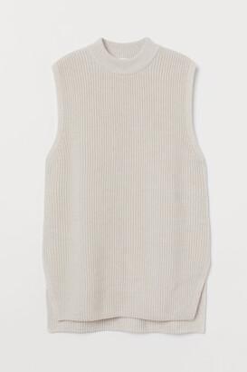 H&M Rib-knit Sweater Vest