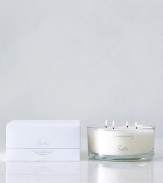 The White Company Seville Large 4-Wick Candle