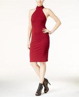 B. Darlin Juniors' Halter Mock-Neck Bodycon Dress
