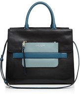 Marc Jacobs Madison Tricolor North/South Leather Tote