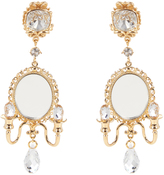 Dolce & Gabbana Fantasy mirror chandelier earrings