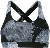 The Upside flower print sports bra