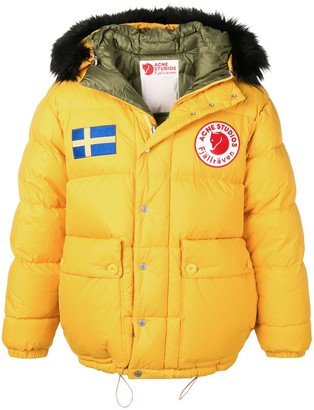 Acne Studios x Fjallraven Reversible down jacket
