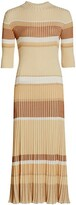 Thumbnail for your product : Proenza Schouler Zig Zag Stripe Knit Dress
