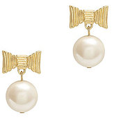 Kate Spade All Wrapped Up Faux-Pearl Drop Earrings