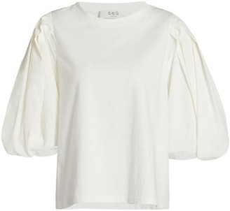 Sea Nadja Puff-Sleeve T-Shirt