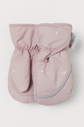H&M Water-repellent Mittens