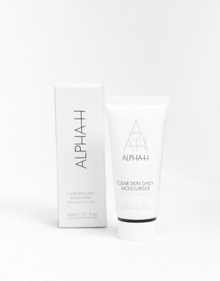 Alpha-h Clear Skin Daily Moisturiser with Hyaluronic Acid 30ml
