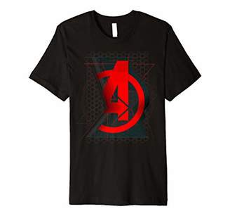 Marvel Black Widow Avengers Logo Premium T-Shirt