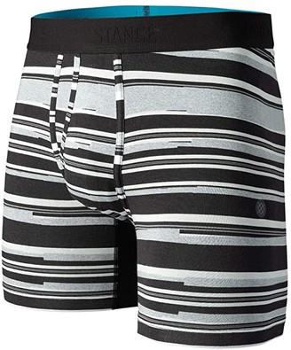 Stance Rebel Boxer Brief (Black) Men's Underwear