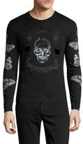 Alexander McQueen Cotton Skull T-Shirt