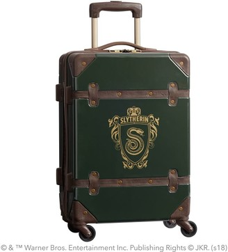 Pottery Barn Teen HARRY POTTER Hard-Sided SLYTHERIN Carry-on Spinner