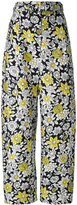 Christian Wijnants wide-leg trousers - women - Polyester/Cupro/Viscose - 36
