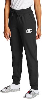 Champion Women's Powerblend Applique Jogger Pants