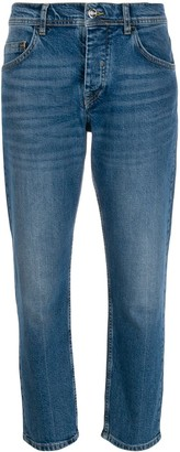 Iceberg Low Rise Cropped Jeans