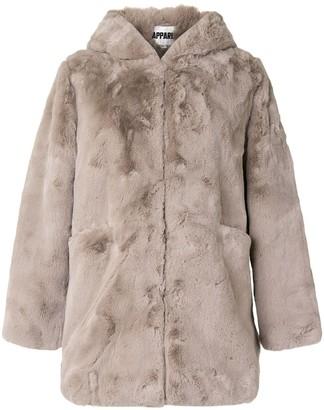 Apparis Maria faux-fur hooded coat