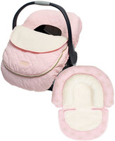 JJ Cole Pink Car Seat Cover & Head Support