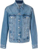 CK Calvin Klein distressed jacket
