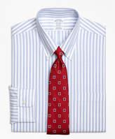 Brooks Brothers Non-Iron BrooksCool® Madison Fit Wide Stripe Dress Shirt