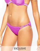 Asos Cut Out Strappy Hipster Bikini Bottom