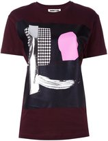 McQ by Alexander McQueen abstract face print T-shirt